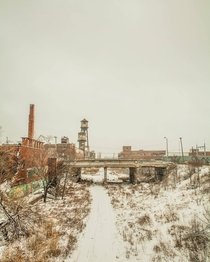 Industrial landscape of Michigan Ian Brown