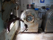 Industrial washer in abandon resort x OC