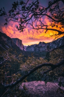 Infernosunrise at Yosemite NP