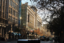Inner Downtown of San Francisco California