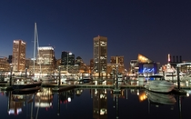 Inner Harbor Baltimore MD x