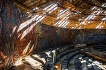 Inside a Buzludzha monument in Bulgaria photo credit Maria Stoyanova