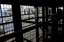 Inside an abandoned coal breaker Eastern PA