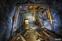 Inside an abandoned Gold Mine Only in Japan