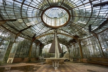 Inside an abandoned greenhouse  By Romain Thiery
