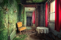 Inside an abandoned house By Thomas Mueller