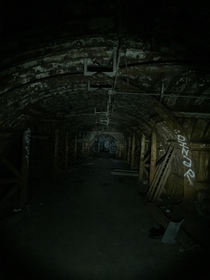 Inside an abandoned missle silo