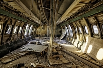 Inside an abandoned plane in the UN Buffer Zone in Cyprus  Photographed by WorldPhotos