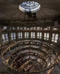 Inside an industrial tower in Northern Italy  by Forgotten Heritage Photography
