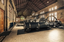 Inside ir DF Woudagemaal the largest working steam pumping station in the world