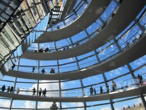 Inside Norman Fosters Reichstag Dome Berlin Germany