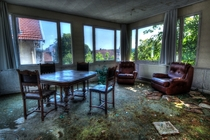 Inside of an Abandoned Hotel at France By Urban Requiem