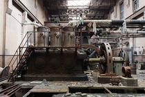 Inside the abandoned armour meatpacking plant closed since  East St Louis Illinois United States   By Kevin