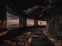 Inside the Buzludzha Monument by Samir Kazimi