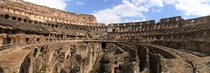 Inside the Colosseum Rome
