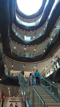 Inside The Emporium shopping centre Melbourne Australia