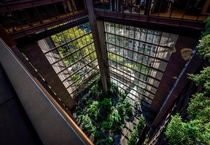 Inside the Ford Foundation Building Manhattan NY  Architect  Kevin Roche