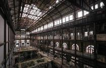 Inside the Gates of Hell Abandoned New York power station now used for zombie movies