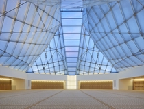 Inside the Ismaili Centre in Toronto by Fumihiko Maki