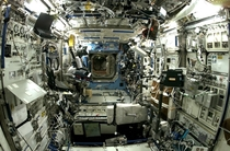 Inside the ISS
