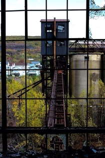 Inside the same coal breaker Eastern PA