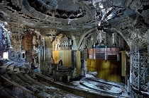 Inside the United Artists Theater Detroit