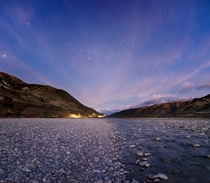Insomnia has its perks - this taken just before sunrise over the Waiau River Lewis Pass New Zealand