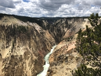 Inspiration Point Grand Canyon of Yellowstone NP