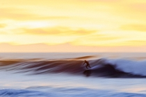 Inspired by the Impressionists Surfing on sunset Tenerife Canary Islands