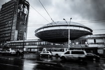 Institute of Scientific Research and Development  Kiev  Ukraine    Architects F Yuryev L Novikov
