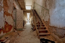 Interior of Eastern State Penitentiary