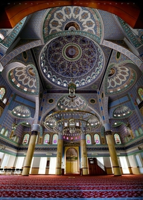 Interior Of Sukh Chayn Mavi Mosque Lahore Pakistan By Minhaj Qazi