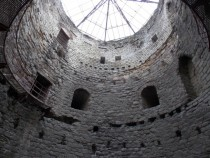Interior of Yedikule Fortress tower Used to house Ottoman political prisoners