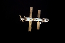 International Space Station at the Start of Expedition