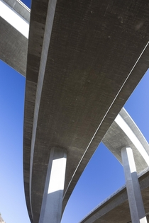 Interstate  amp CA  Freeway Interchange Los Angeles