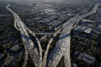 Interstate  and  freeways in Los Angeles