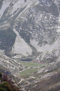 Invernales del Texu a Shepherds village in the Picos de Europa Spain