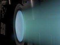 Ion Thruster Sets World Record It has a fuel efficiency that is - times greater than a chemical thruster and has been operated for over  hours This will allow it to perform extended tours of multi-asteroids comets and outer planets and their moons