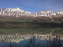 iPhone  picture taken while working aboard a train in Alaska