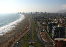 Iquique a Chilean city on the edge of the Atacama Desert