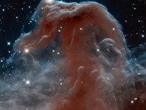 IR image of the Horsehead Nebula Barnard