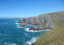 Ireland But no not Cliffs of Moher This is Mizen Head the most Southwest point in Ireland