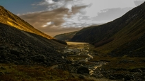 Ireland - The Wicklow Way - Glendelough - January