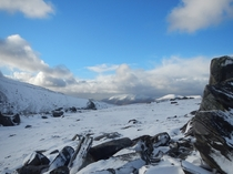 Irelands highest peaks from Mangerton Mntn Co Kerry Irelandoc x