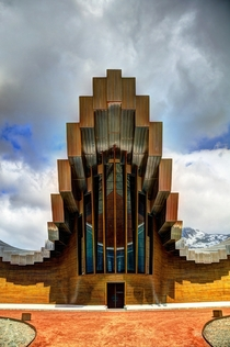 Isios Winery in La Rioja Spain designed by Santiago Calatrava