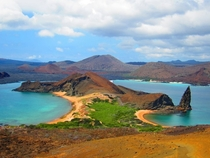 Isla San Bartolome - Galapagos Islands Ecuador Can You Spot The Boat