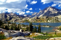 Island Lake Wind River Range WY