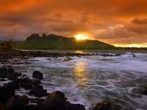 Island Seascape Kauai Hawaii xpost from rseaporn