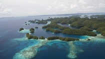Islands in Republic of Palau Photo credit Matt Rand The Pew Charitable Trusts