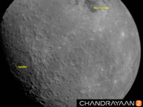 ISRO releases a photo of the moon taken by Chandrayaan-